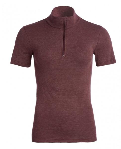 Thermo kurzarm Shirt mit Zipper