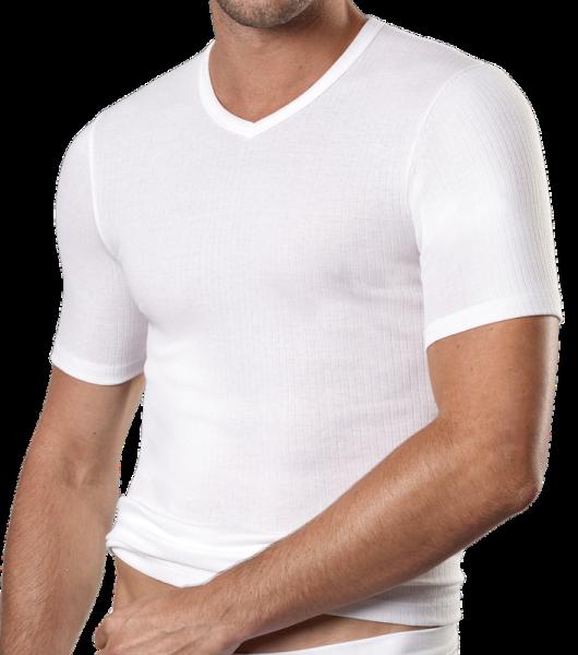 kurzarm Shirt Nadelzug