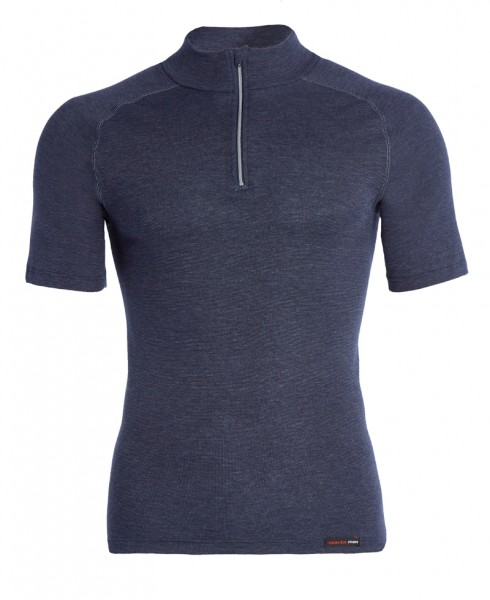 Thermo kurzarm Shirt mit Zipper