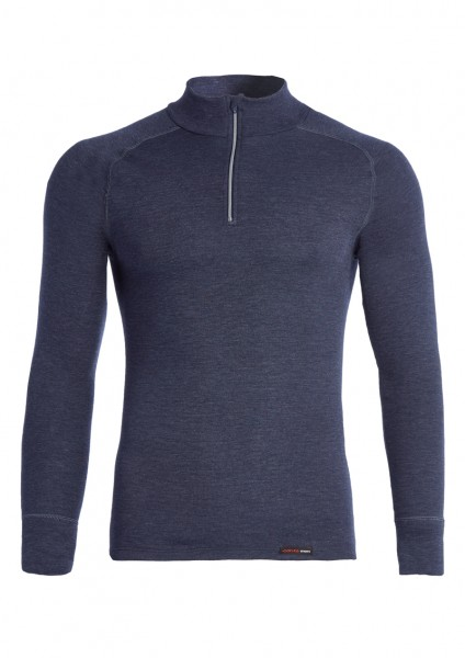 Thermo langarm Shirt mit Zipper