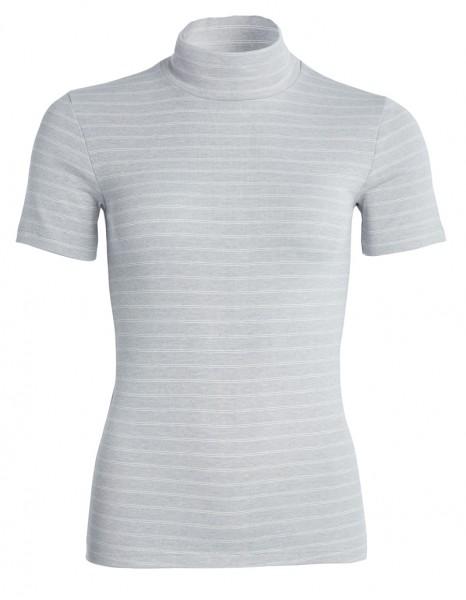 Thermo kurzarm Shirt mit Stehkragen