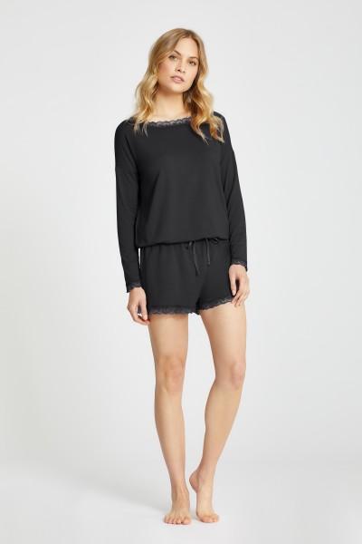 Loungewear langarm Shirt
